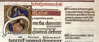 Salvum bnf latin 8846 psaume 11