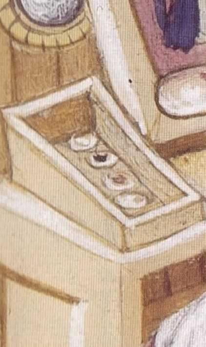 Copie de laia peignant son autoportrait bnf 598 f100
