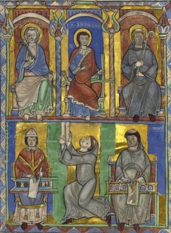 Écriture bnf latin 11580 f1 copie
