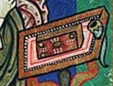 St luc historisches archiv der stadt köln hastk 7010 312a folio 110v évangéliare de st pantaleon de cologne, milieu du 12es