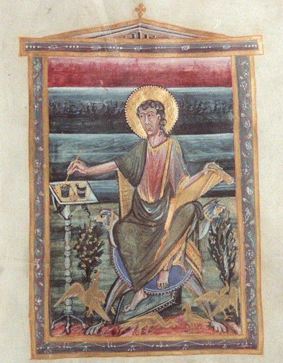 St Jean Historisches Archiv der Stadt Köln HAStK 7010 312 f.160r 10e s