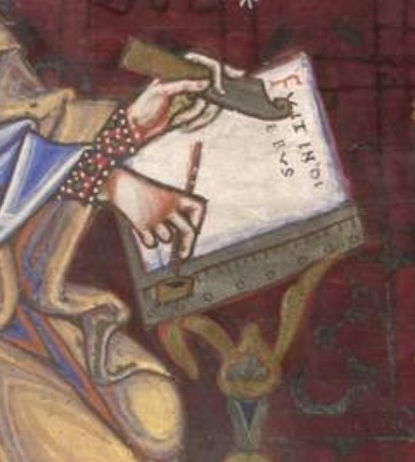 Munich bayerische staatsbibliothek Clm 16003 St luc f143 Passau um oder kurz nach mitte 12es   - copie 2