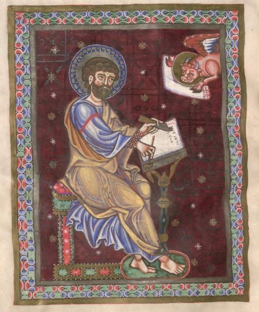 Munich bayerische staatsbibliothek Clm 16003 St luc f143 Passau um oder kurz nach mitte 12es