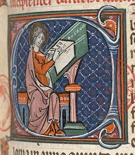XIIIe entre 1275 et 1299 baruch, bibl mazarine 29 f323 4e Quart 13e languedoc copie