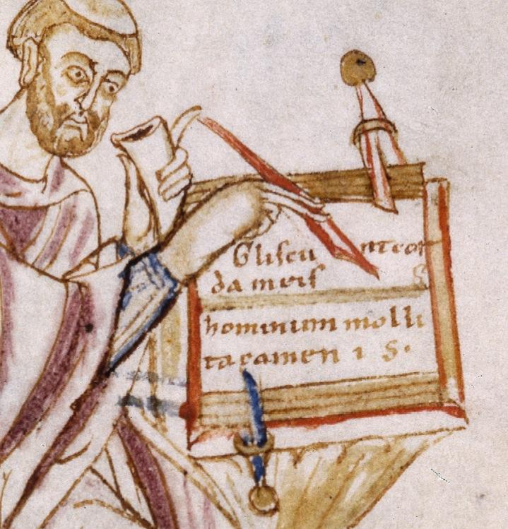 Wolfenbüttel, Herzog-August-Bibliothek, 334 Gud. Lat. 8o, fol. 4r.