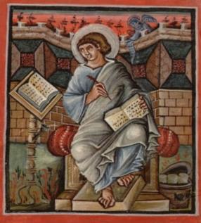Bnf latin 17968 f15v St mathieu