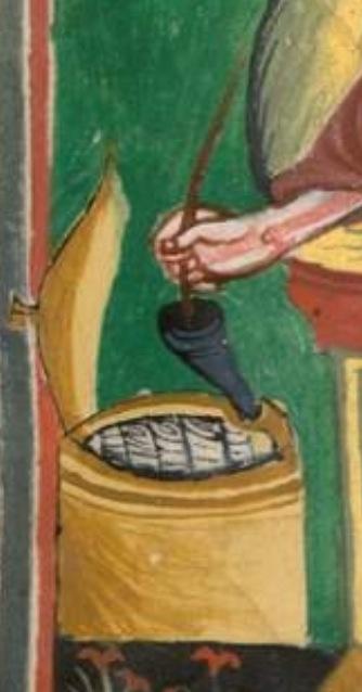 800-900 munich bayerische staatsbibliothek Clm 22311 St mathieu f97 st gallen spates 9s anfang 10e - copie