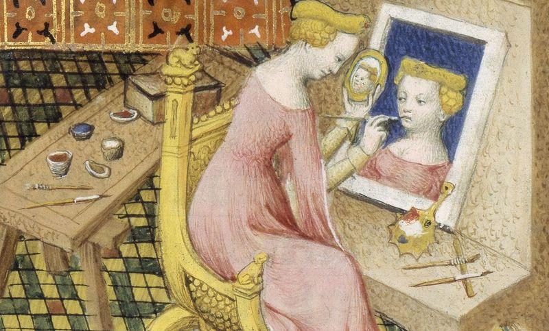 Copie de Copie de laia pinceaux, cornets bnf 12420 f 101v