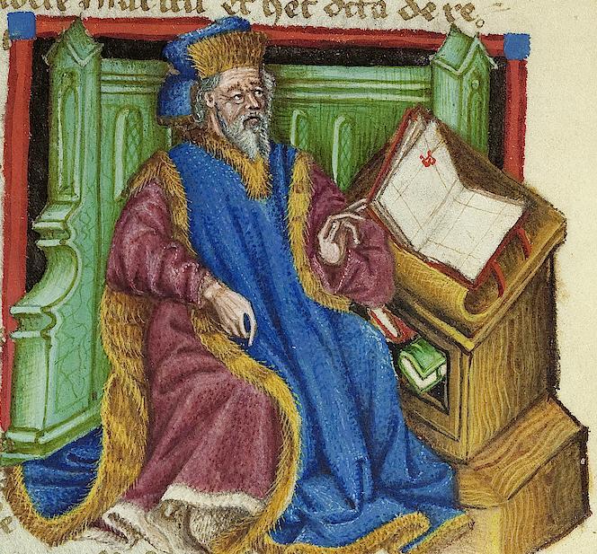 Vatican, biblioteca paostolica Pal.lat.961.f.013v Jacques de Cessoles, Amberg 1458