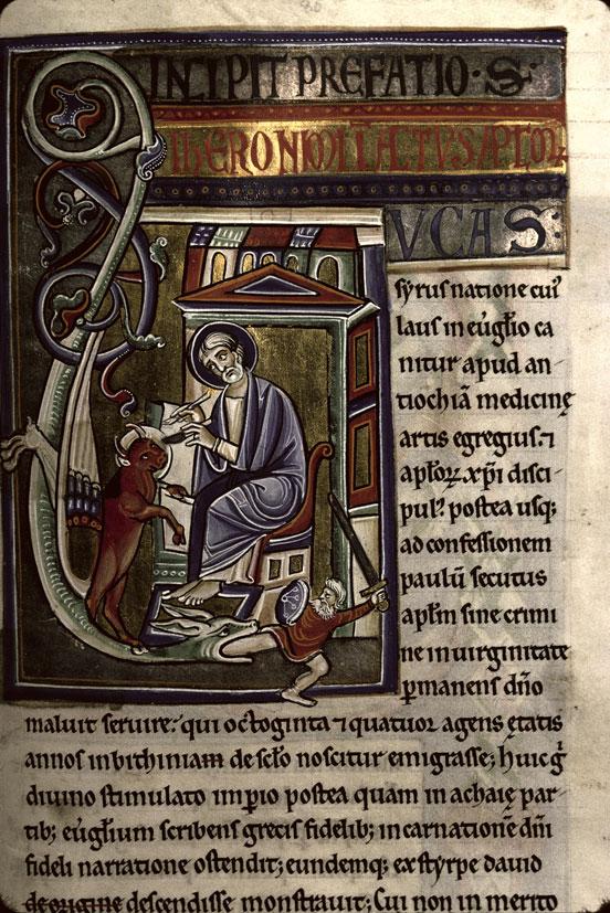 Moulins 1 f342 bible de souvigny bourbonnais fin 12e s
