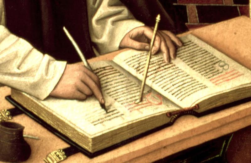 St jérome, museo de la fondacion lazaro garldiano madrid, maestro del parral, lieu Segovia (Castilla y Léon) , monasterio de santa maria del parral ca1480-1490