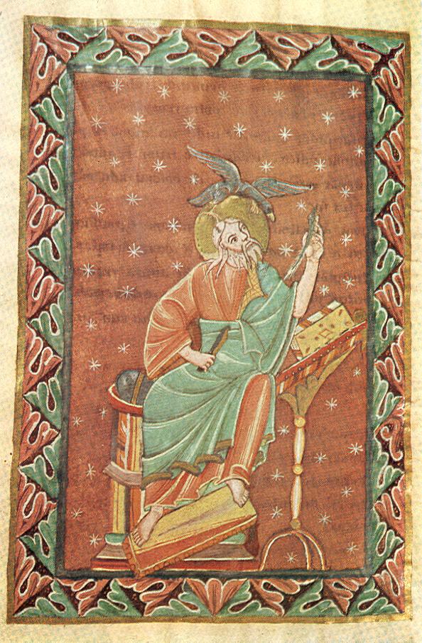 *st Jean Theophanu-Evangeliar, fol 116 v, Entstehungsort: Lüttich?, 1039:1056, Essen, Domschatzkammer Essen Hs3 —