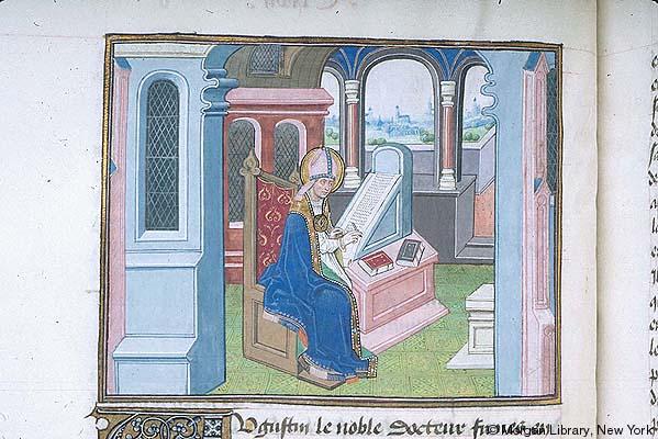 St augustin Bruges 1445-1465 PMLm675.f029va