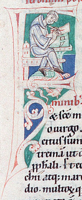 Admont (Autriche) Stiftsbibliothek Codex Admontensis 33 folio 1 12e s moine - copie