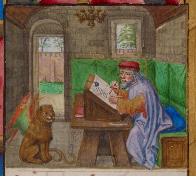 St Marc 1BL Add 18852 fol 189r Heures à l'usage de Rome  heures de jeanne de castille ou de jeanne la folle 1486-1506