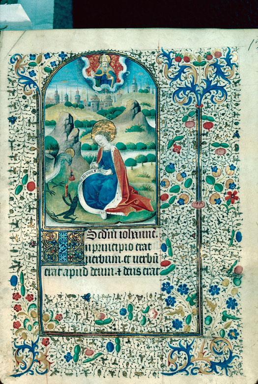 St jean à patmos beaune 53 f13 vers 1460 PAris ensemble