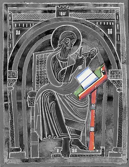 12e st Mathieu ? 12es Vatican Biblioteca apostolica Pal.lat.048.f.035v