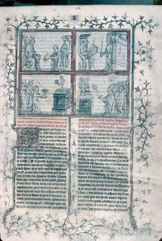 1390 (vers) troyes bm 261 f1 simon de hesdin mémoire