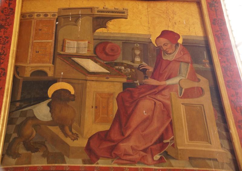 *remplir Évangéliste Marc église de pèlerinage de Saint-Wolfgang (Velburg) Wallfahrtskirche St. Wolfgang (Velburg)