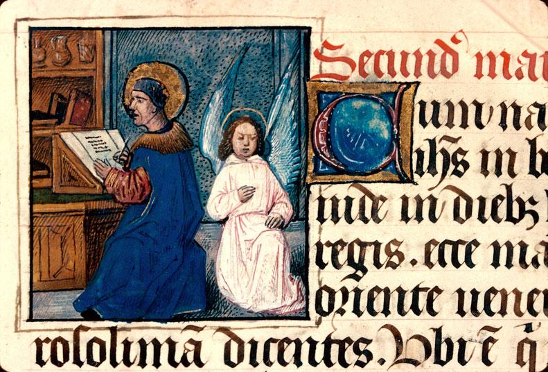 St matthieu besançon bm 93 f 19 vers 1470 Bourgogne ?
