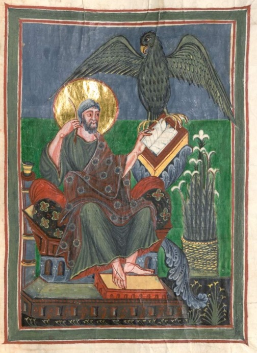 Munich bayerische staatsbibliothek Clm 22311 St jean f221 st gallen spates 9s anfang 10e