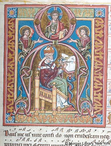 St grégoire le grand (autriche) salzburg ? ca 1260-1264 PMLm855.f009ra