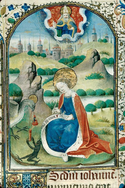 St jean à patmos beaune 53 f13 vers 1460 PAris