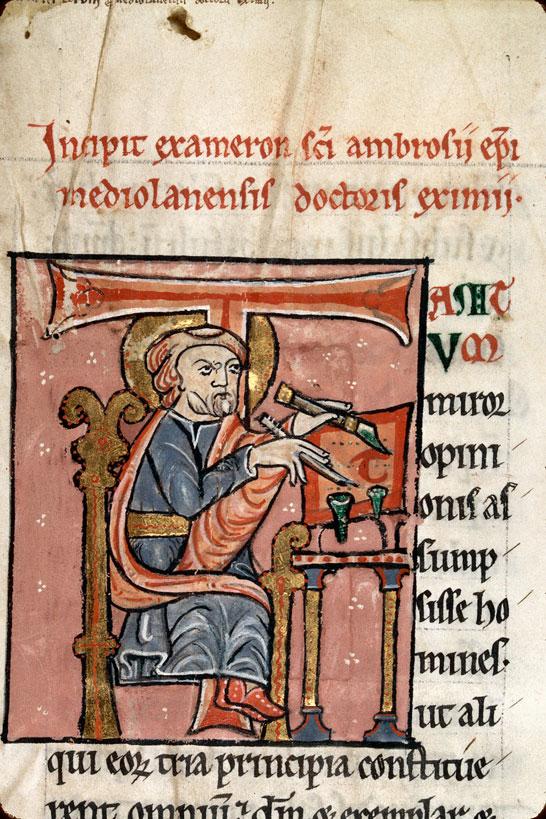 12 st ambroise, charleville-mézières bm 212 tIII folio 1 fin XIIe