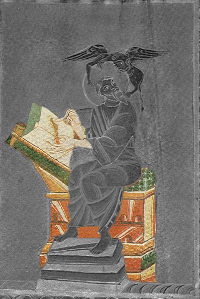 11e st marc  Theophanu-Evangeliar, Entstehungsort_ Lüttich?, 1039_1056, Essen, Domschatzkammer Essen Hs3 folio 50v—
