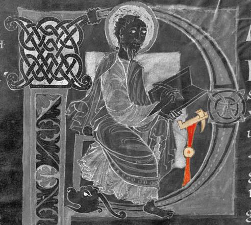 11e st paul écrivant valenciennes 11 f99v st amand abbaye hainaut