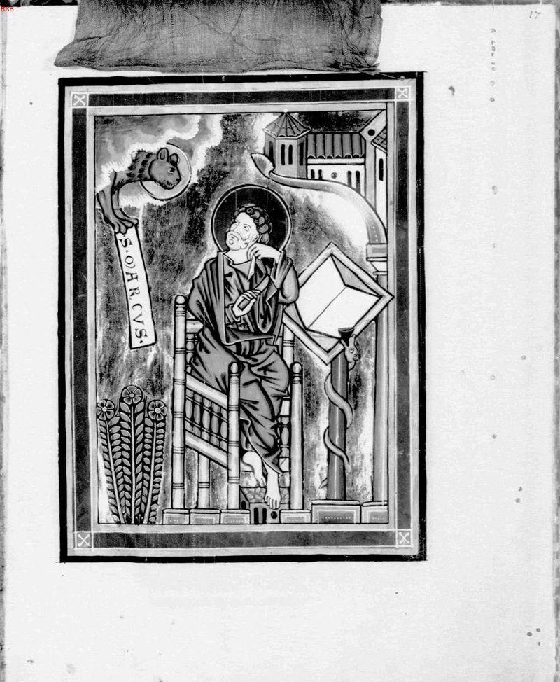 *alengui st marc Evangeliar aus Kloster Hohenwart, das sogenannte Goldene Buch von Hohenwart, mittelrheinisch, vor 1240, München, Bayerische Staatsbibliothek, Inv.-Nr. Cod. lat. 7384 —