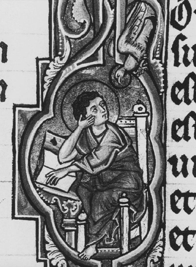 *alengui st jean kopenhagen, kongelige bibliotek GKS 4 2° vol.III folio 104r