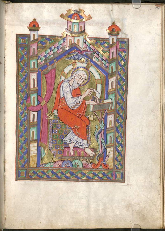 St jean munich staatsbibliothek clm 28321 fol 257 Tegernsee fruhes 12e