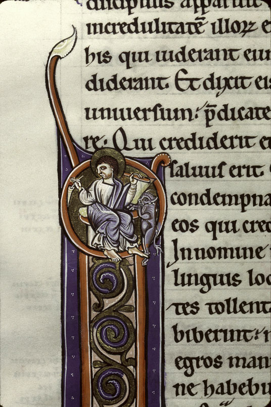 Clermont ferrand 1 p.322 bible de clermont st luc vers 1170-1180 france centre