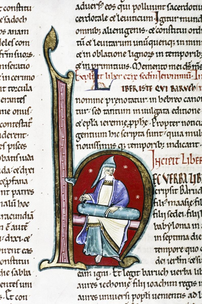12e-13e *Baruch Angleterre, fin 12e deb 13e bodl_LaudMisc.752_folio 307v