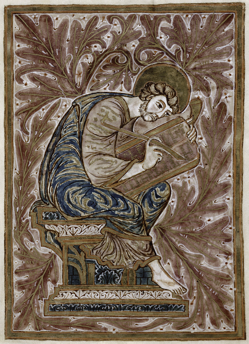 St luc allemagne Xe New York, New York Public Library, Manuscripts and Archives Division,  NYPL MA 001 f4v