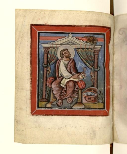 *bnf latin 17968 f55V st marc