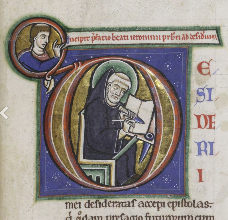 12 ca. 1175 - 1199 st albans Cambridge  Corpus Christi College  MS 048: Bible folio 7r
