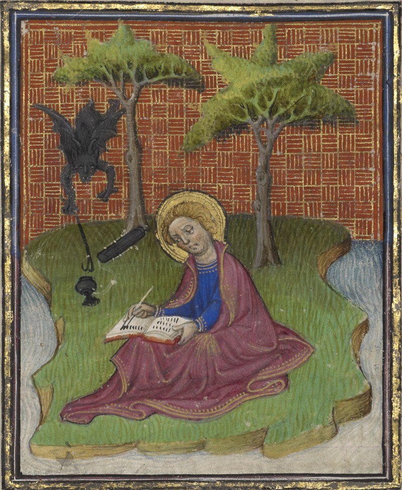 1410 The J. Paul Getty Museum  Los Angeles  Ms. Ludwig IX 5  fol. 13 suiveur du maître Egerton actif en France et en Hollande vers 1405-1420 peint vers 1410