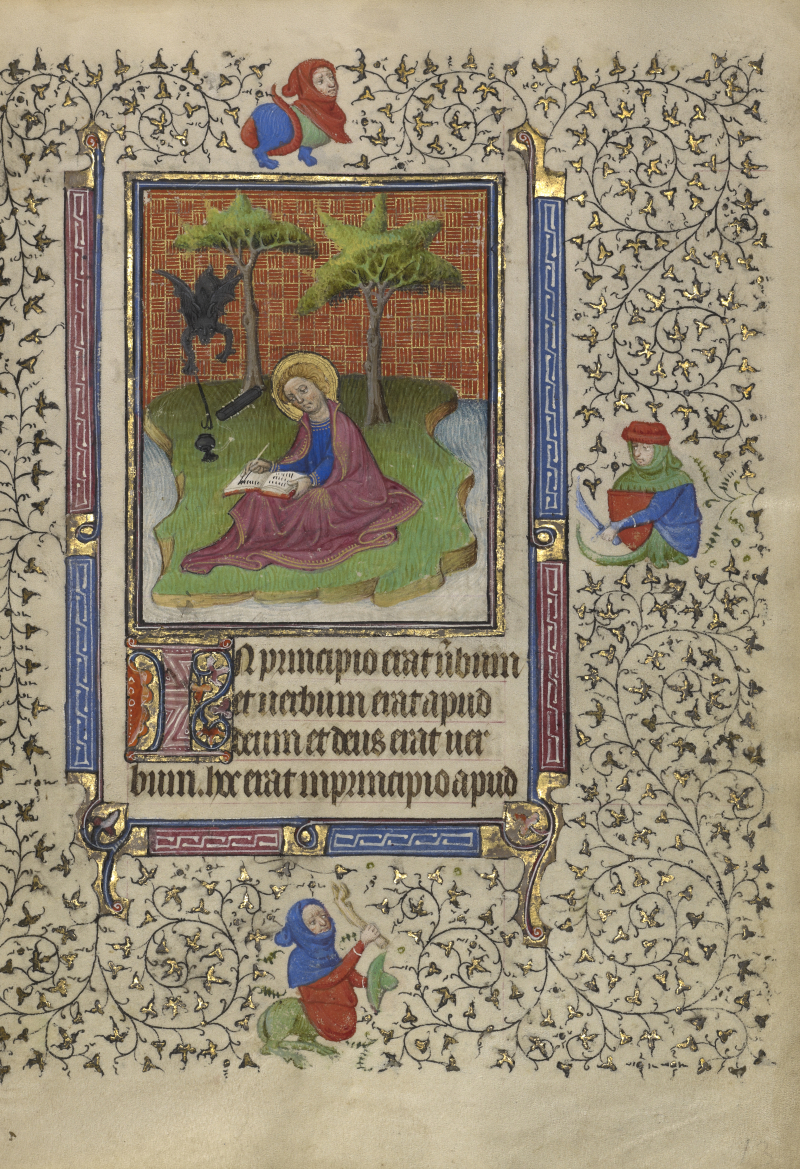 1410 The J. Paul Getty Museum  Los Angeles  Ms. Ludwig IX 5  fol. 13 suiveur du maître Egerton actif en France et en Hollande vers 1405-1420 peint vers 1410 copie